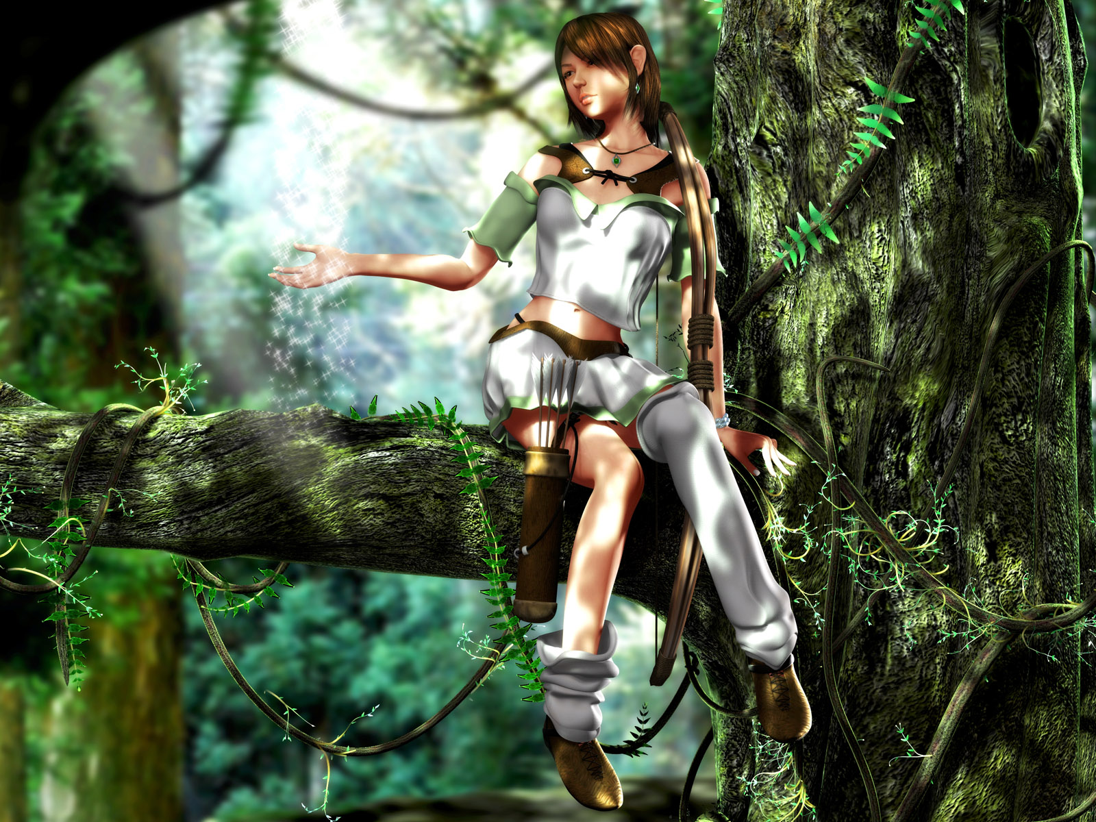 Jungle girls captured 3d sexy streaming