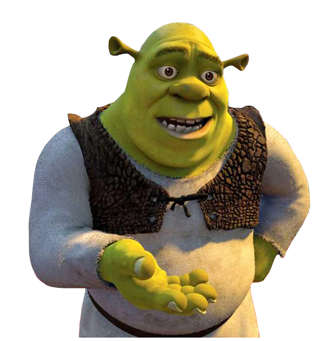 Shrek Face Png Big Green Shrek Pictures to pin on Pinterest